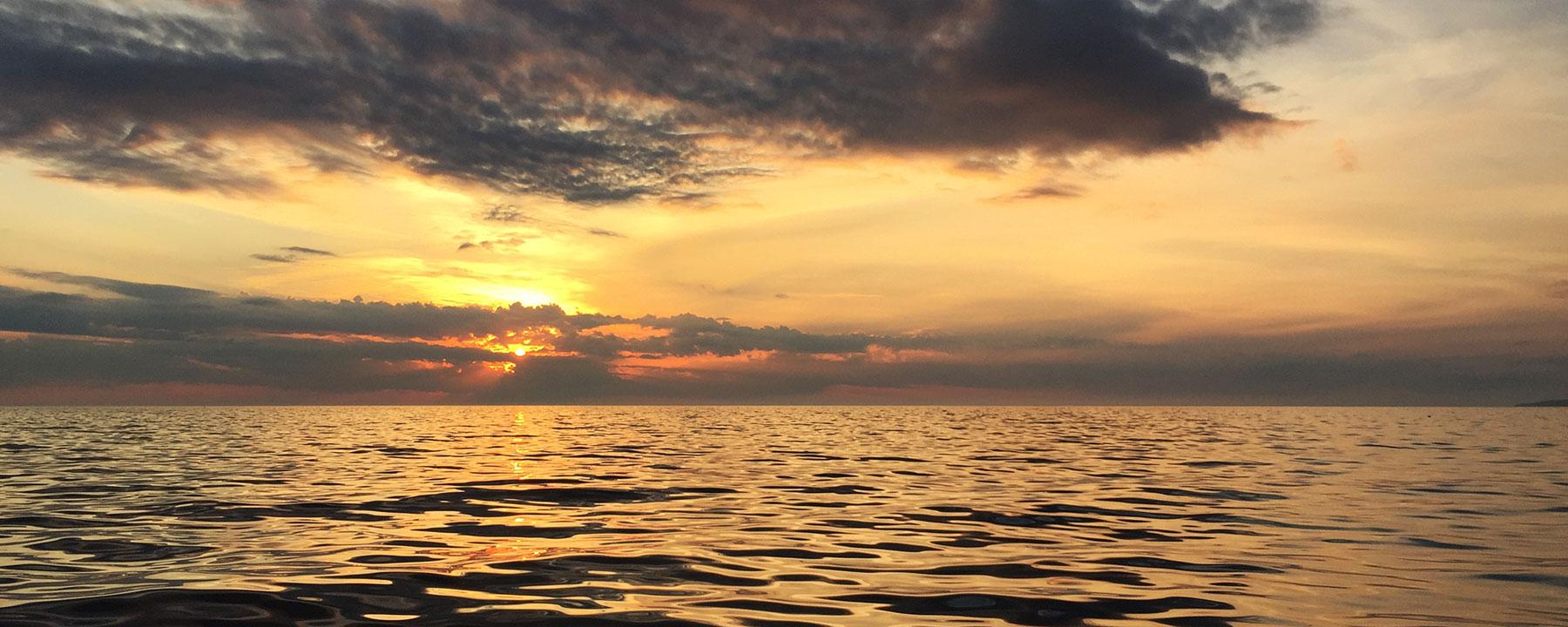 Little Traverse Bay Sunset